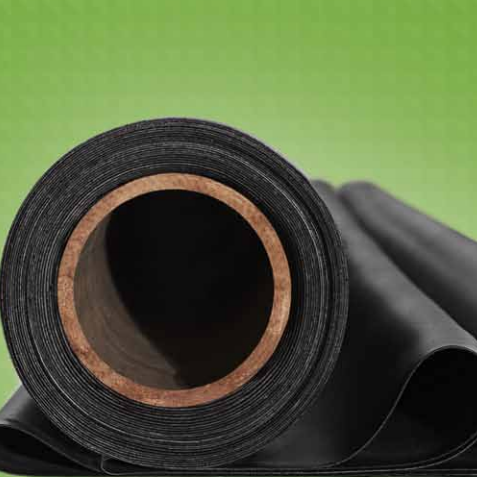 roll of rubber roofing material